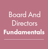 BDF - Board and Director Fundamentals (ONLINE)